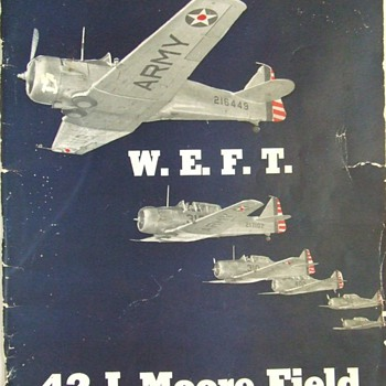 1942 Moore Field, Mission, Texas, Army Air Force Class Book