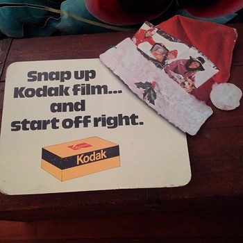 Kodak Advertising Sign