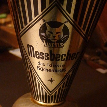 German Luchs Messbecher Measuring Cup 1950s