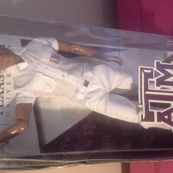 Texas A&M Guy Cheerleaders by Barbie