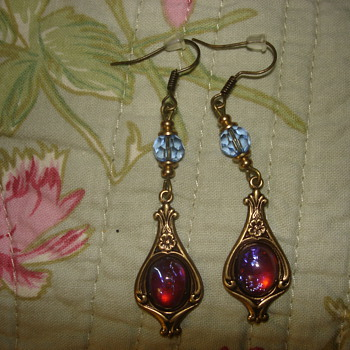 DRAGON BREATH DANGLING EARRINGS - Fine Jewelry