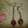 DRAGON BREATH DANGLING EARRINGS