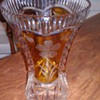 BEAUTIFUL BOHEMIAN ART GLASS VASE