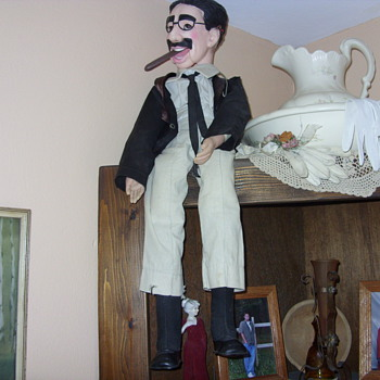 GROUCHO MARX DOLL