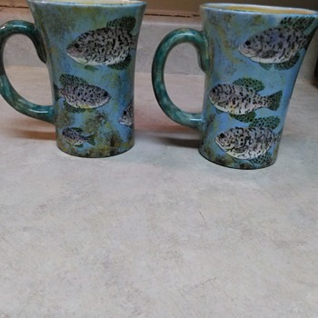 MIKE STOVALL FISH MUGS