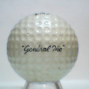 "The Real ""General Ike"" Golf Ball - Sporting Goods"
