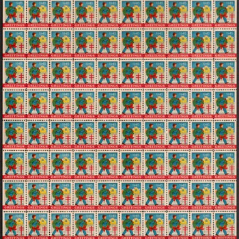 1945 - Christmas Seals - Mint Sheet of (100) - Stamps