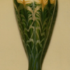 QUEZAL ART GLASS VASE, circa 1907