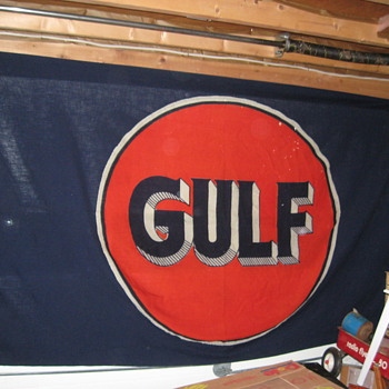 Gulf Oil Co Flag - Petroliana