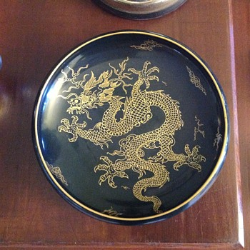 Golden Dragon bowl from 1917 - China and Dinnerware