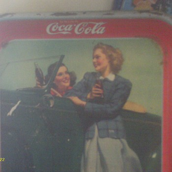 my coke trays and other things - Coca-Cola