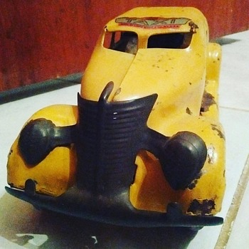 """Marx"" Taxi Cab Toy"