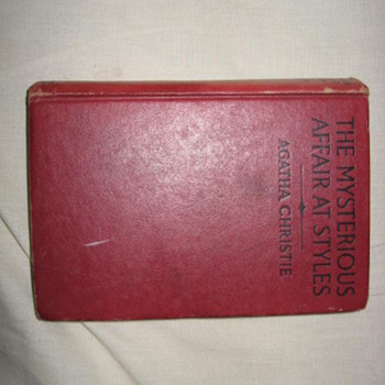 1920 US edition Agatha Christie &quot;The Mysterious Affair at Styles&quot; - Books
