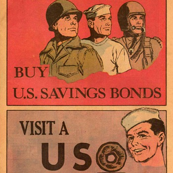 1961 - Patriotic Advertisements (from Comic Book) - Advertising