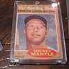 1962 Topps Sporting News All-Star Mickey Mantle