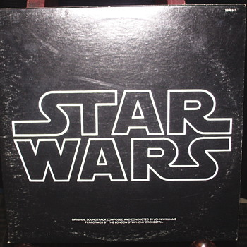 "Star Wars 2 LP set""1977"""