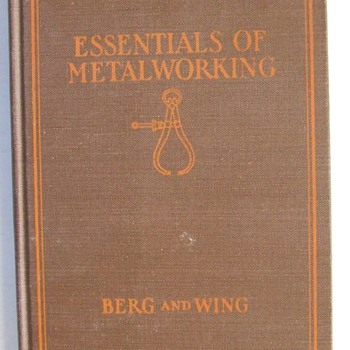 1934 Metalworking/Machine Shop Book
