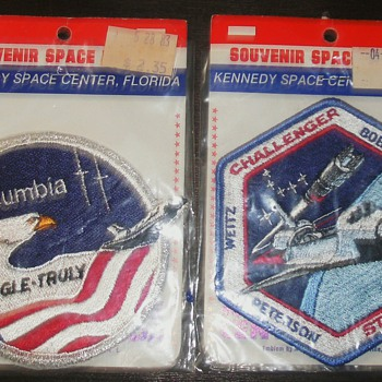 Space Shuttle Patches - Military and Wartime