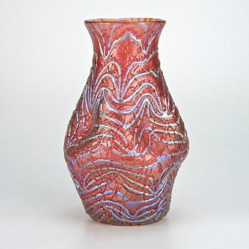 Loetz Aeolus/Formosa/Mimosa Variant...or something like that! - Art Glass