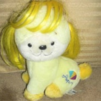 1983 Yellow Puppy with Yellow Hair