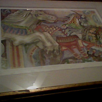 MARY HULGAN SIGNED PRINT