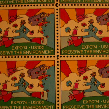 Expo '74 Preserve The Environment 10¢ Stamps