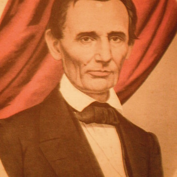 Abraham Lincoln lithograph
