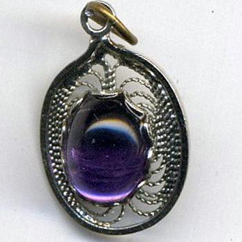 Vintage 1970's AMETHYST stone - Fine Jewelry