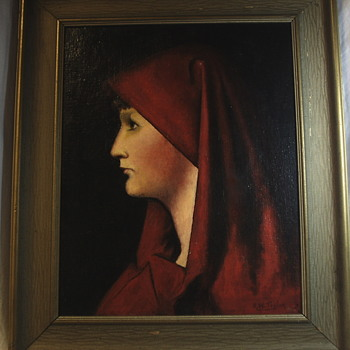 "Saint Fabiola""????""""Early XX century - Visual Art"