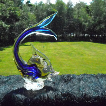 Art Glass Fish - Art Glass