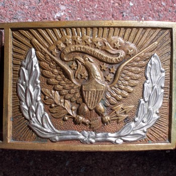Civil War Belt & Belt Buckle  - Military and Wartime