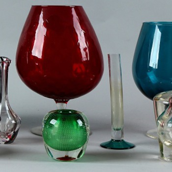 Vases and collateral damage - Art Glass