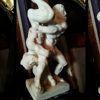 Curiosa: homoerotic statuette