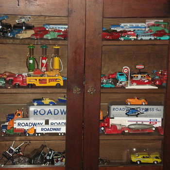 What do you think of my Tootsie Toy & Other Toys Collection :) - Model Cars