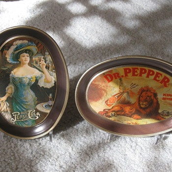 Another Dr. Pepper tray - Advertising