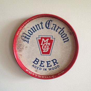 Mount Carbon Beer Tray