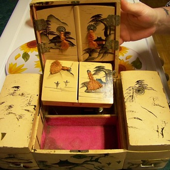 Japanese Jewelry Box - Asian