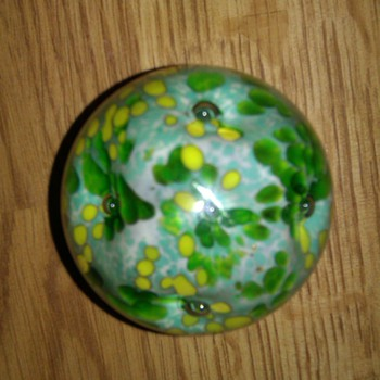 Hand blown Paperweight - Art Glass