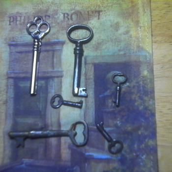 Skeleton and barrel keys