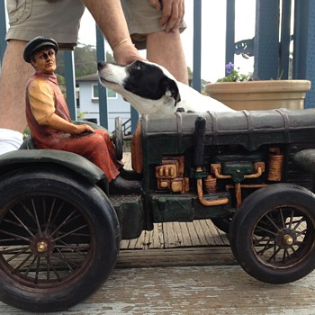 handcrafted 1920&#039;s Fordson Model N tractor