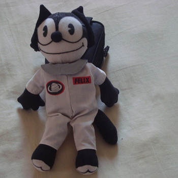 felix the cat ( original 1990 felix the cat  white original explorer custom) - Animals