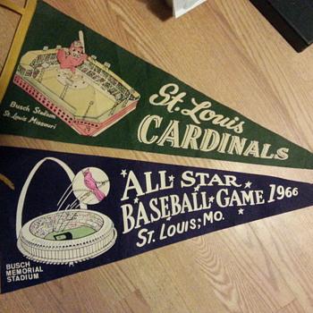 stl cardinal penant - Baseball