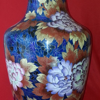 Beautiful 20th Century  Cloisonné Antique  - Asian