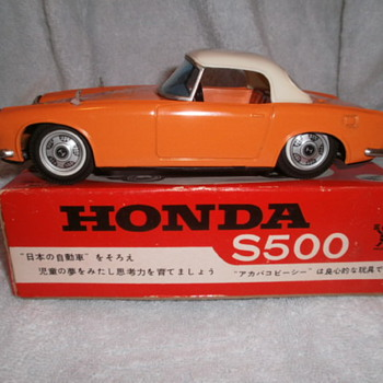 Bandai Honda S500 - Model Cars