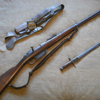 Italian Model 1891 Mannlicher-Carcano Rifle - Military and Wartime