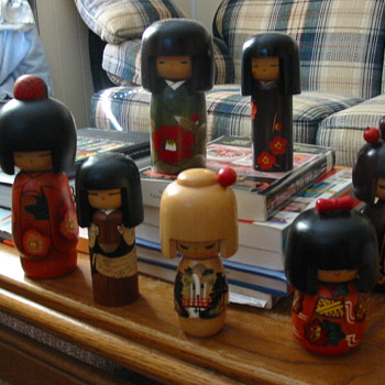 Japanese doll collection - Dolls