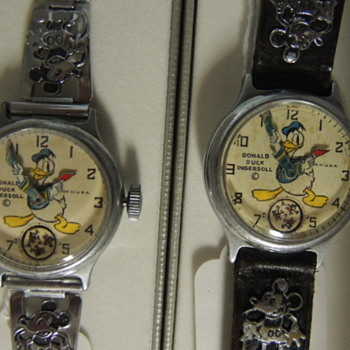 1935 DONALD DUCK WRIST WATCHES - Wristwatches