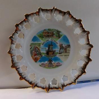Holland, Michigan, Souvenir Plate
