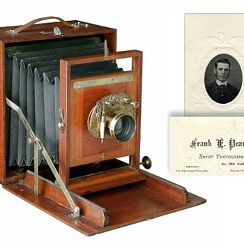 The 1883 Pearsall Compact Camera and its Maker