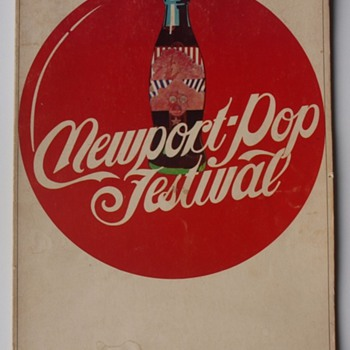 1968 Newport Pop Festival Program - Music Memorabilia